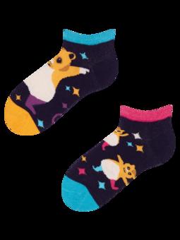 Detské veselé členkové ponožky Párty škrečky