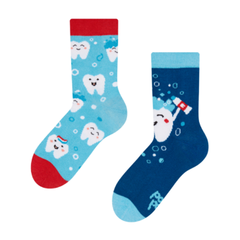 Kids' Socks Clean Teeth
