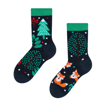Kids' Socks Red Fox
