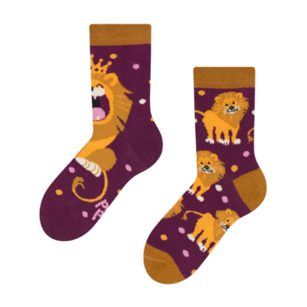 Kids' Socks King of the Jungle
