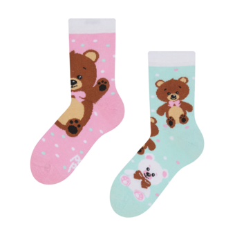 Kids' Socks Teddy Bear