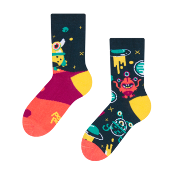 Kids' Socks Aliens