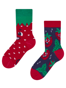 Kids' Socks Happy Strawberries