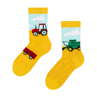 Kids' Socks Tractor