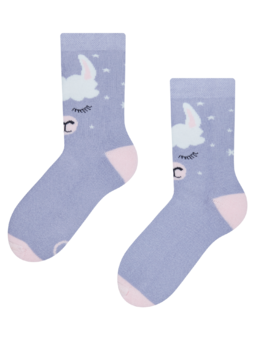 Veselé dětské teplé ponožky Lama