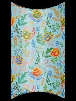 Caja regalo ovalada Prado de primavera
