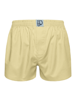 Pastel Yellow Men's Boxer Shorts