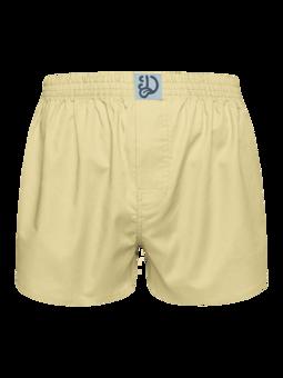 Pastellgelbe Shorts für Männer