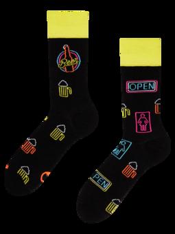 Vesele čarape Neonsko pivo