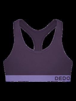 Bralette violet foncé pour femmes