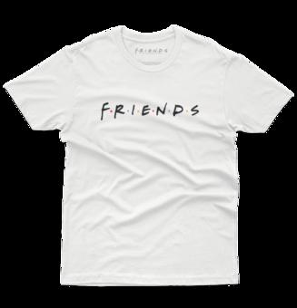 Tricou Friends™ Logo