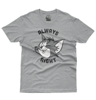 Camiseta Tom & Jerry con Always Right estampado