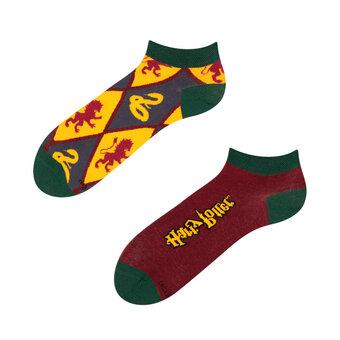 Harry Potter™ enkelsokken Gryffindor vs Slytherin