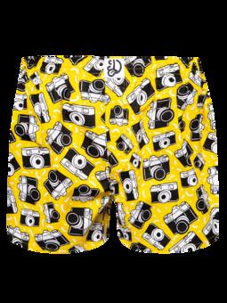 Lustige Shorts für Männer Kamera