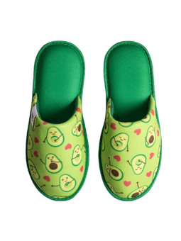 Slippers Avocado Love