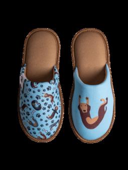 Veselé papuče Jezevčík