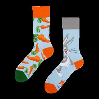 Veselé ponožky Bugs Bunny ™ Mrkev