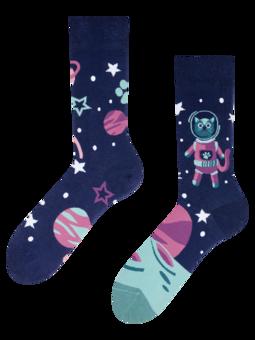 Vrolijke sokken Space Cat