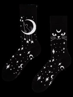 Vesele čarape Mistična mačka