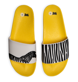 Veselé pantofle Zebra