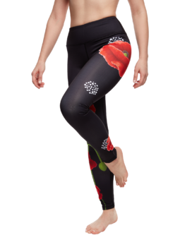 Training Leggings Poppy Flower