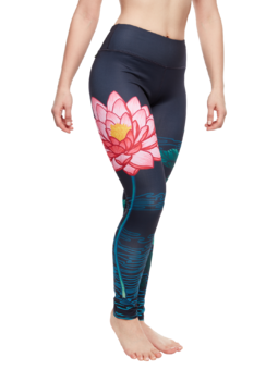 Leggings d'entraînement rigolos Lotus