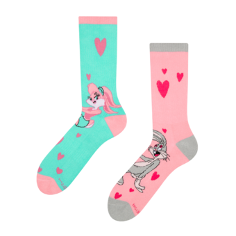 Good Mood Sport Socks Looney Tunes™ - Lola & Bugs Bunny Love