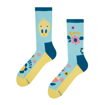 Veselé športové ponožky Looney Tunes ™ Rozkošný Tweety