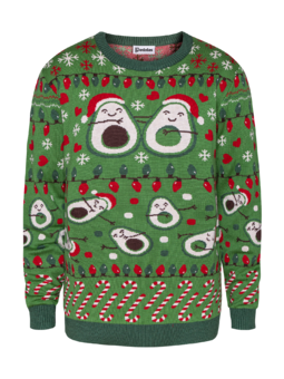 Christmas Sweater Avocado Love