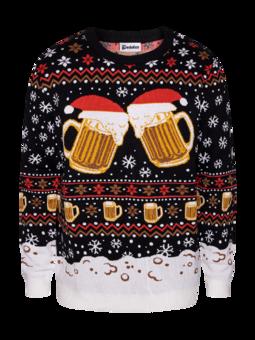 Vrolijke kersttrui Draft bier