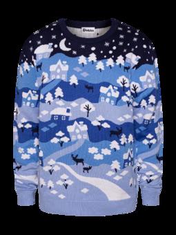 Lustiger Weihnachtspullover Winterwunderland