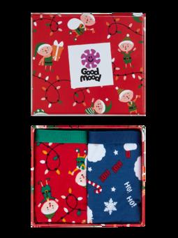 Vánoční dárková krabička dámských kalhotek