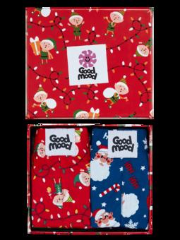 Božična darilna škatla ženske široke boksarice