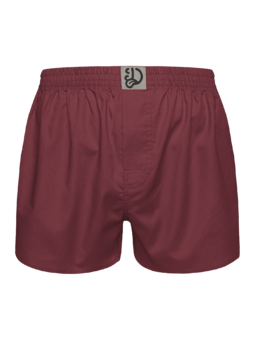 Wine Red Men's Boxer Shorts