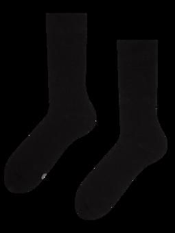 Čierne ponožky z recyklovanej bavlny