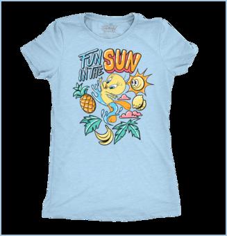 Dames-T-shirt Looney Tunes™ - Funny Tweety