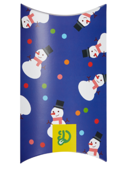 Oval Gift Box Snowfight