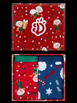 Božična darilna škatla ženske hlačke