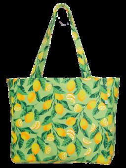 Veselá plážová taška Citróny