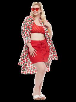 Shirt Dress Strawberries