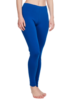 Dark Blue Cotton Leggings