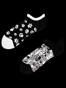 Lustige Sneakersocken Katzenpfoten