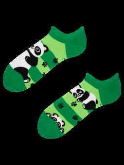Calzini sneaker Buonumore Panda e Righe
