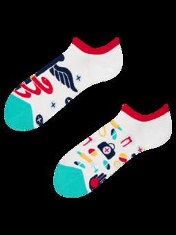 Veselé ponožky do tenisek Zdraví