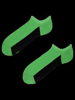 Zelené ponožky do tenisek Pata