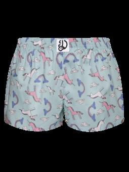 Lustige Shorts für Frauen Einhorn