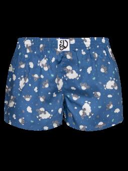 Lustige Shorts für Frauen Schafe und Wolken