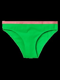 Damskie figi Neonowo zielone