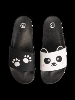 Vrolijke sliders Pandapootjes