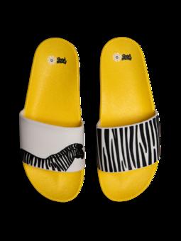 Sandales rigolotes Zèbre